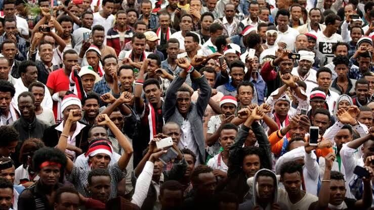 Ethiopians hit the streets to protest the death of Hachalu ...